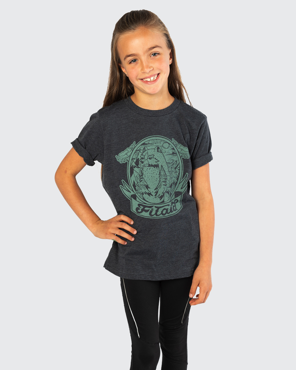 FITAID YOUTH BEAR T-SHIRT