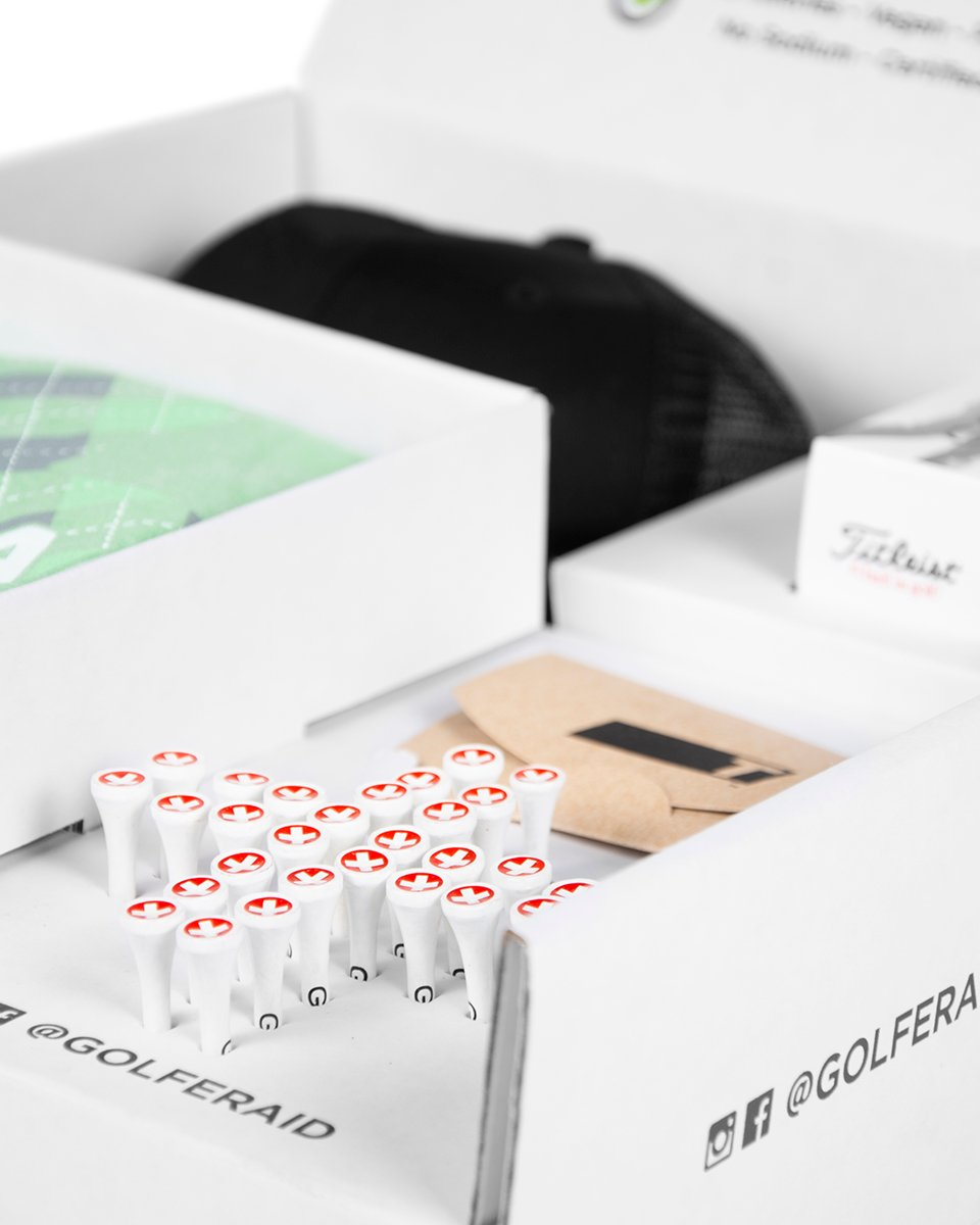 GOLFERAID PRO PERFORMANCE BOX