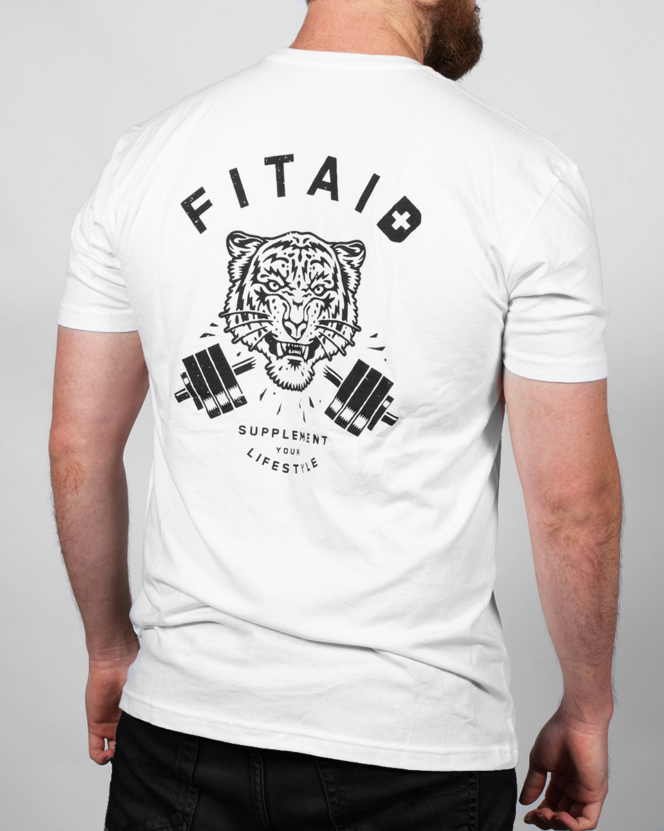 FITAID TIGER T-SHIRT WHITE