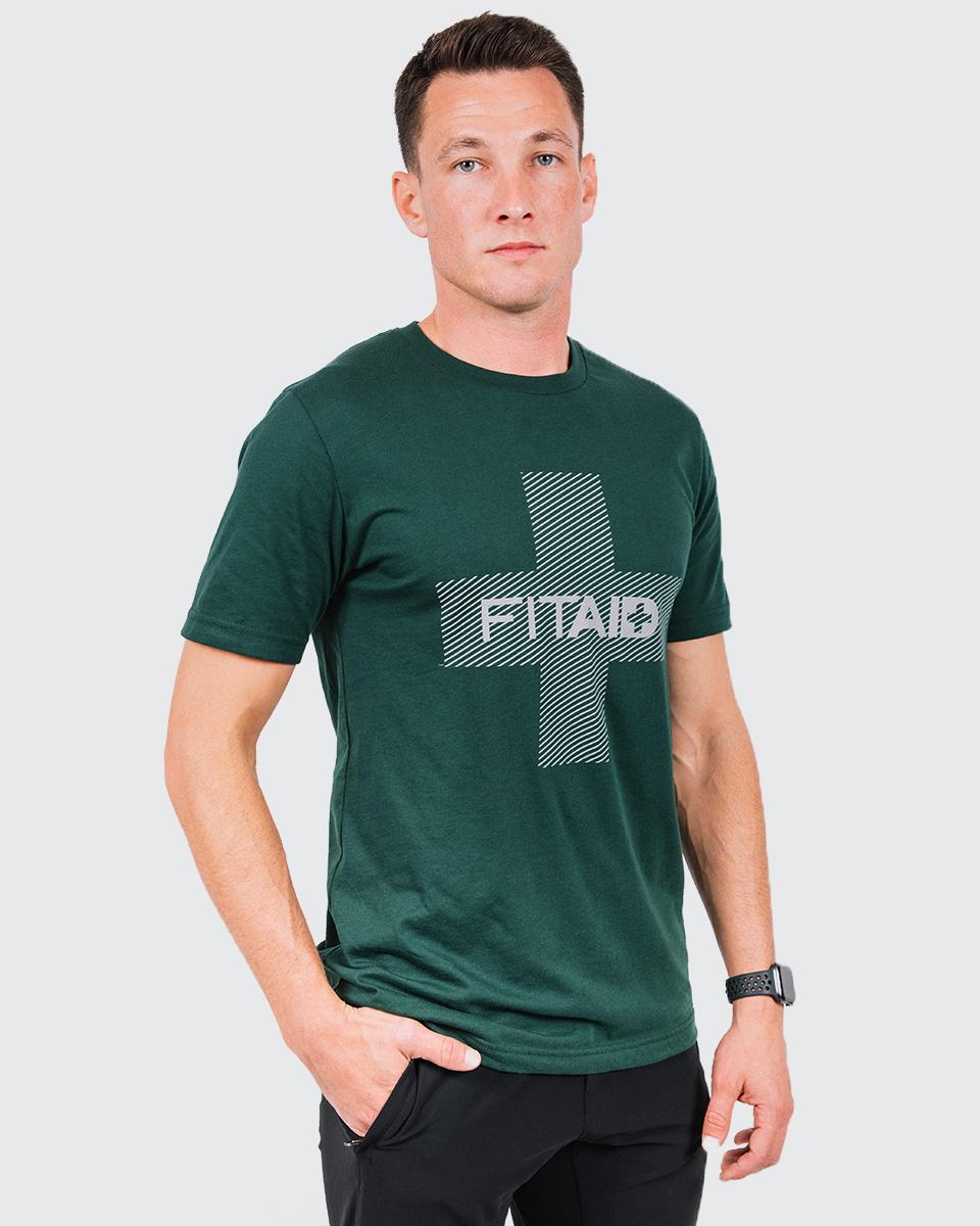FITAID/LIFEAID LOGO T-SHIRT