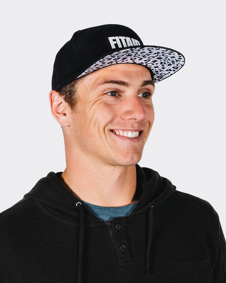 FITAID RUBBER LOGO HAT