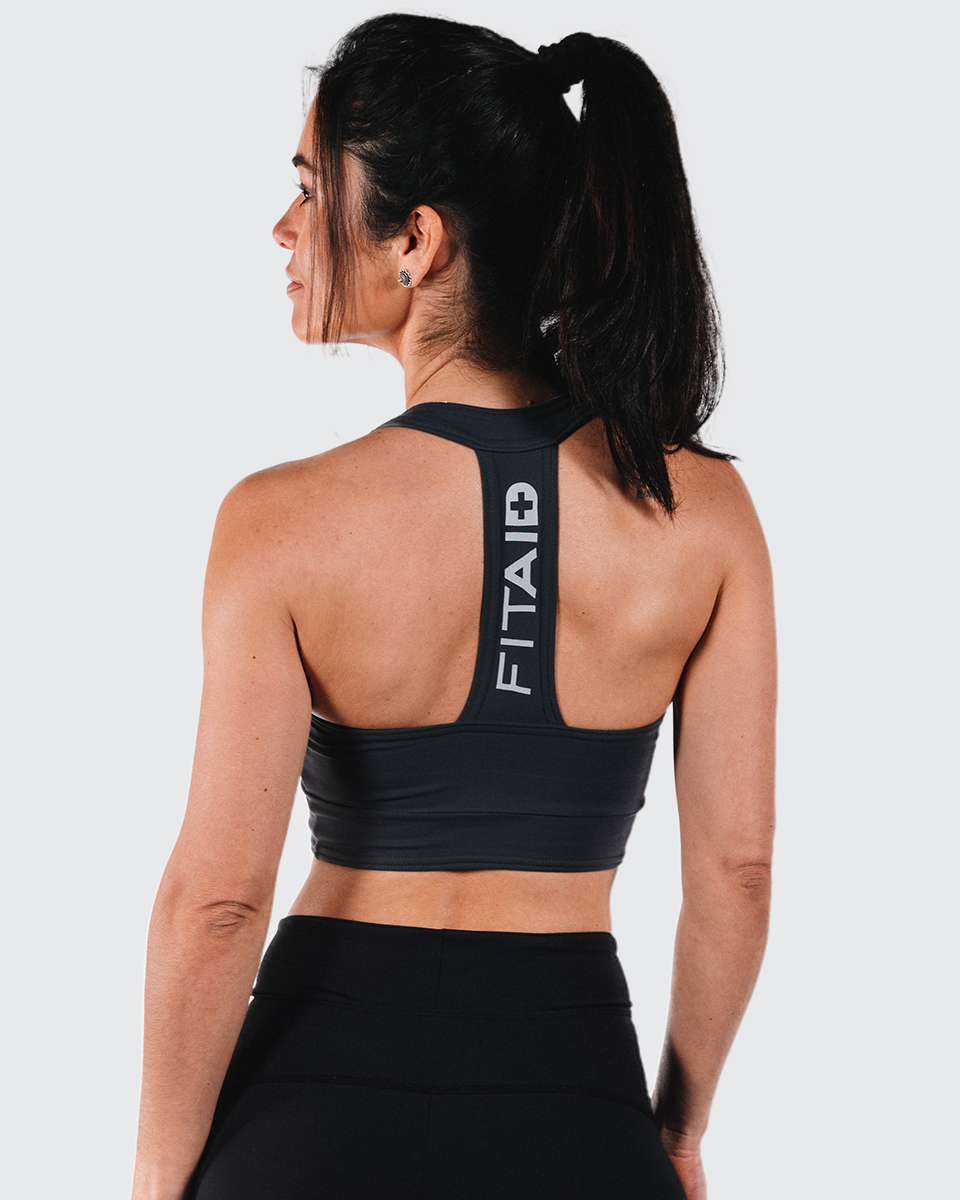 FITAID T-BACK SPORTS BRA