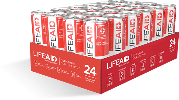 24-can case of LIFEAID
