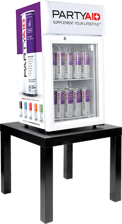 PARTYAID fridge