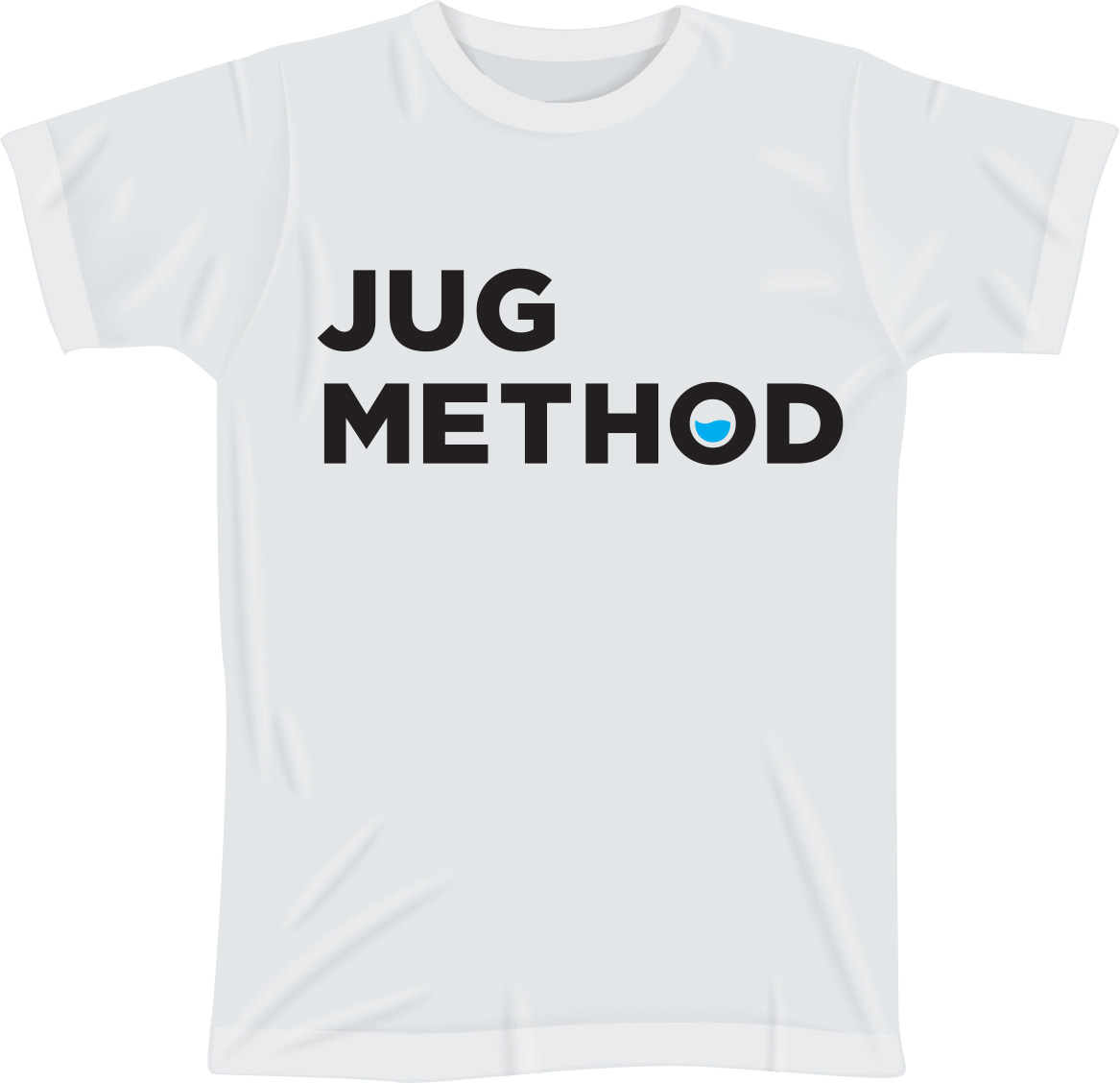 Jug Method White T-Shirt