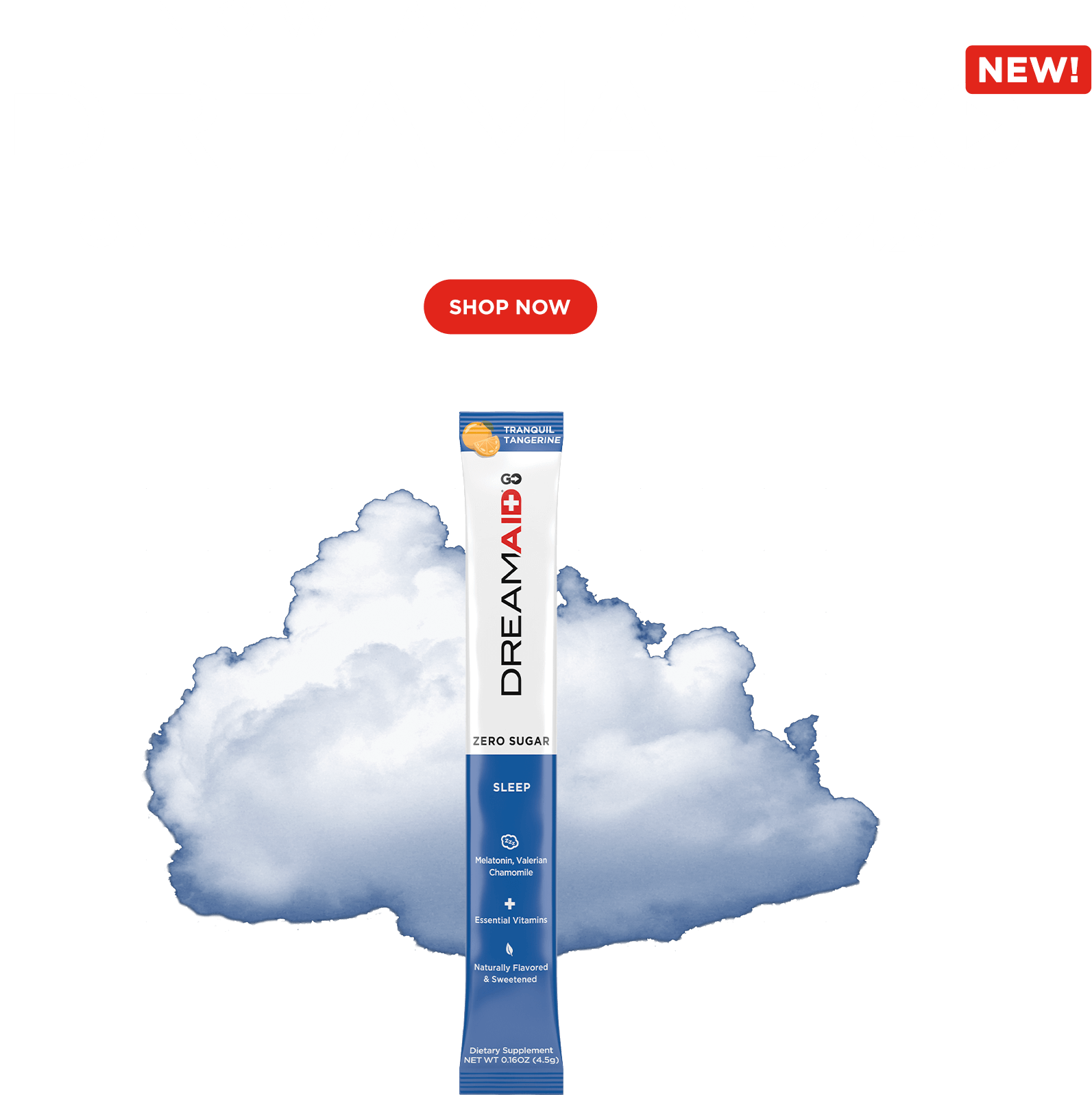 Now available DREAMAID GO on your way to better zzzs. Shop Now.